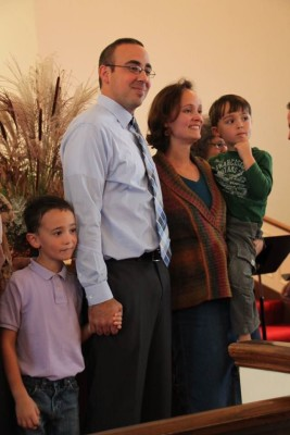 On October 4 East Union installed our new pastor, J. Joel Beachy